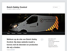 Tablet Preview of dutchsafetycontrol.nl